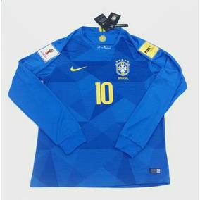 4b685558256d9 Camisa Seleção Manga Longa Cbf Nike - Futebol no Mercado Livre Brasil