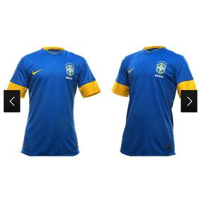 591d9d6bf8e7e Camisa Seleção Brasileira Azul 2013 - Camisas de Futebol no Mercado Livre  Brasil