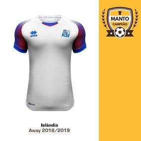 710d05302e59f Camisa Islandia - Camisa Masculina de Seleções de Futebol no Mercado Livre  Brasil
