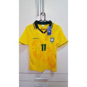 98b48d811cc4a Camisa Do Brasil Umbro 1994 95 no Mercado Livre Brasil