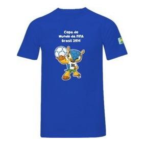 8f9a30ba86f41 Camisa Brasil 2014 Azul - Camisa Brasil Masculina no Mercado Livre Brasil