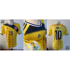 d2b867590f1a7 Camisa Colombia 2014 - Camisa Colômbia Masculina no Mercado Livre Brasil
