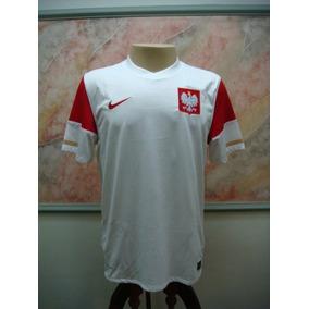 b4e2d811c Camisa De Seleção Da Polônia no Mercado Livre Brasil