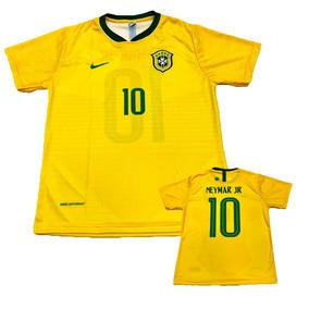 4b8e5329966f4 Camisa Brasil 2018 Amarela no Mercado Livre Brasil