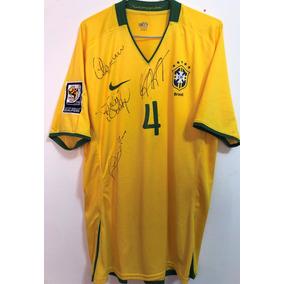 6719a93ce Camisa Do Brasil Copa 2010 - Futebol no Mercado Livre Brasil