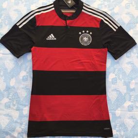 bef377dd048a6 Camisa Alemanha Preta Vermelha - Camisa Alemanha Masculina no Mercado Livre  Brasil