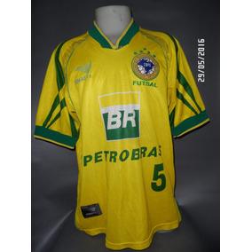 89af7d1acc257 Camisa Seleção Brasileira De Futsal - Futebol no Mercado Livre Brasil