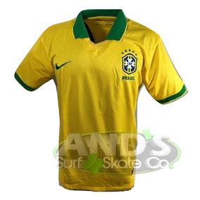 475d2fa601330 Camisa Brasil Verde 2014 - Camisa Brasil Masculina no Mercado Livre Brasil