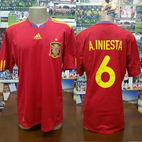 553206bde1460 Camisa Espanha - Camisas de Futebol no Mercado Livre Brasil