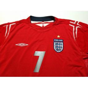 1f91ad5429f91 Camisa Seleção Inglaterra Manga Longa no Mercado Livre Brasil