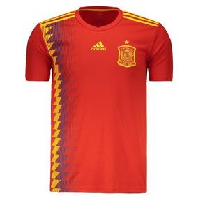 f09d75b4a96db Camisa Espanha Masculina no Mercado Livre Brasil