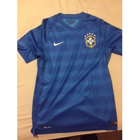 5fe5371462e24 Camisa Brasil Azul Modelo 2014 - Camisa Brasil Masculina no Mercado Livre  Brasil