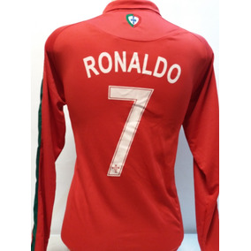 86d40cd019165 Camisa Cristiano Ronaldo Manga Longa - Camisas de Futebol no Mercado Livre  Brasil