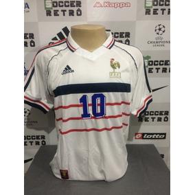 243e7386f34ee Camisa França Away 12 13 Zidane 10 Importada - Futebol no Mercado Livre  Brasil