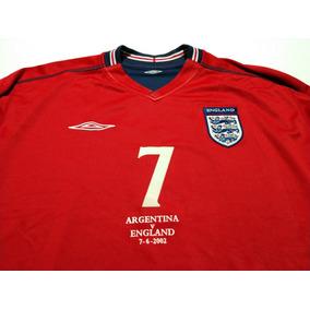 04191d7843e61 Camisa Seleção Inglaterra - Vermelha - Camisas de Futebol no Mercado Livre  Brasil