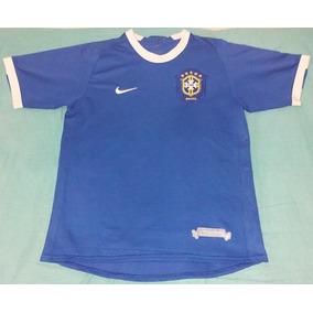 09ae86d6dcdc3 Camisa Seleção Brasileira Azul - Camisas de Futebol no Mercado Livre Brasil