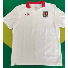 302b55d340354 Camisa Pais De Gales Bale - Camisas de Futebol no Mercado Livre Brasil