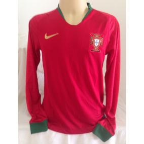 67e2620c33afd Camisa Portugal Manga Longa - Futebol no Mercado Livre Brasil