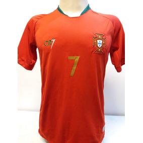 f0f51c9b4e35d Camisa Portugal Cr7 - Camisas de Futebol no Mercado Livre Brasil