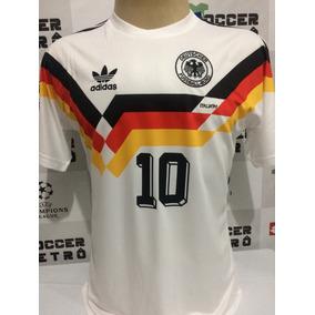 dd17712ec7145 Camisa Adidas Alemanha Retrô 1990 - Camisas de Futebol no Mercado Livre  Brasil