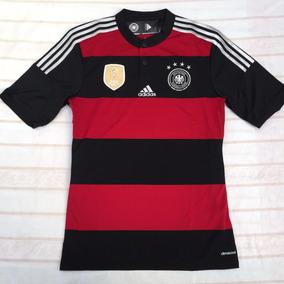 9548040f7cb74 Camisa Alemanha Preta E Dourada - Camisa Alemanha Masculina no Mercado  Livre Brasil