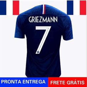 2e50225ef Nova Camisa França Azul Home Seleção Francesa Nike Oficial - Camisas de  Futebol no Mercado Livre Brasil