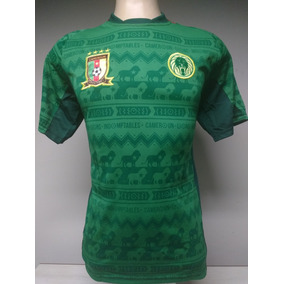 4070f39468afa Camisa Camaroes 2014 - Camisa Camarões Masculina no Mercado Livre Brasil