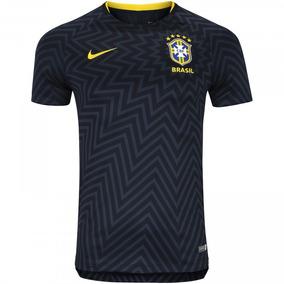 94696711fd5a8 Camisa Seleção Brasileira Treino Nike Original 2018 - Futebol no Mercado  Livre Brasil