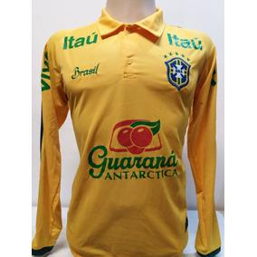 a253b131c7ab3 Camisa Polo De Treino Seleção - Futebol no Mercado Livre Brasil
