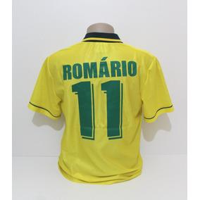 f13d47117ec62 Camisa Romario Seleção Brasileira no Mercado Livre Brasil