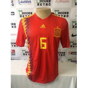 4ae01dcac93b5 Camisa Barcelona Iniesta - Camisas de Futebol no Mercado Livre Brasil