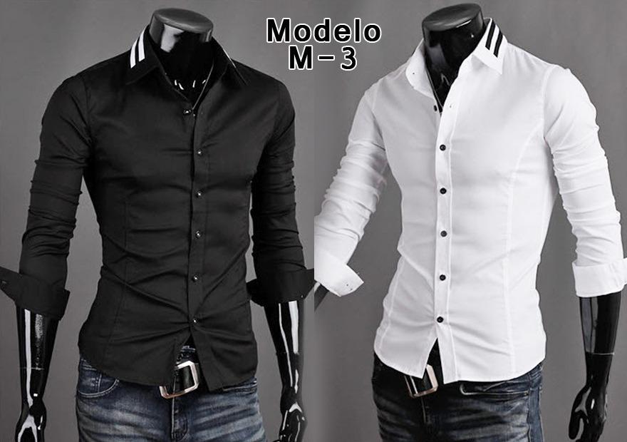 ffeb53d147 camisas slim fit de vestir para caballeros. Cargando zoom.