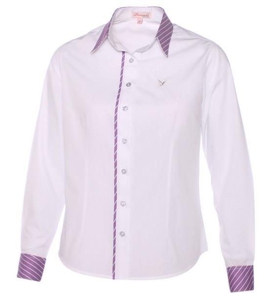 512ff72280 Camisas Sociais Femininas Pimenta Rosada + De 50 Modelos - R  99