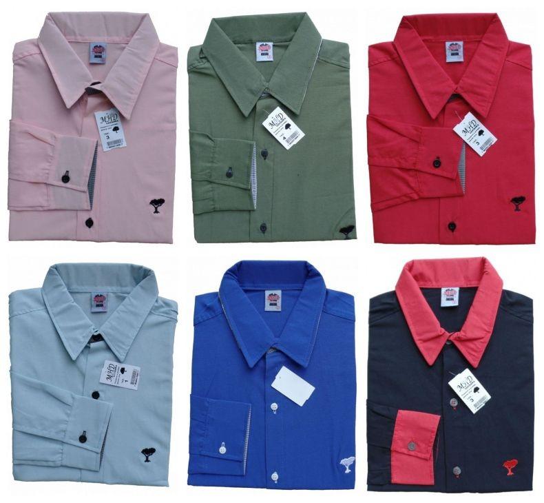 9a04ba684b Camisas Social Masculina Manga Longa Barato Preço Fabrica - R  34