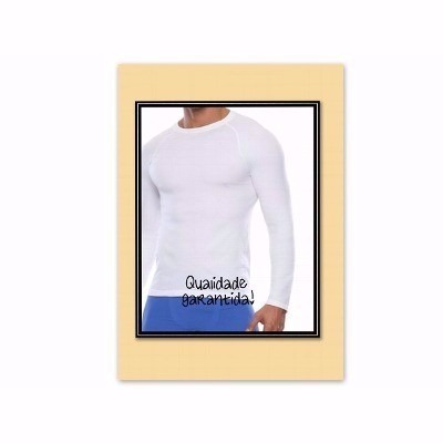 camisas térmicas esporte lazer acessório qualidade tático