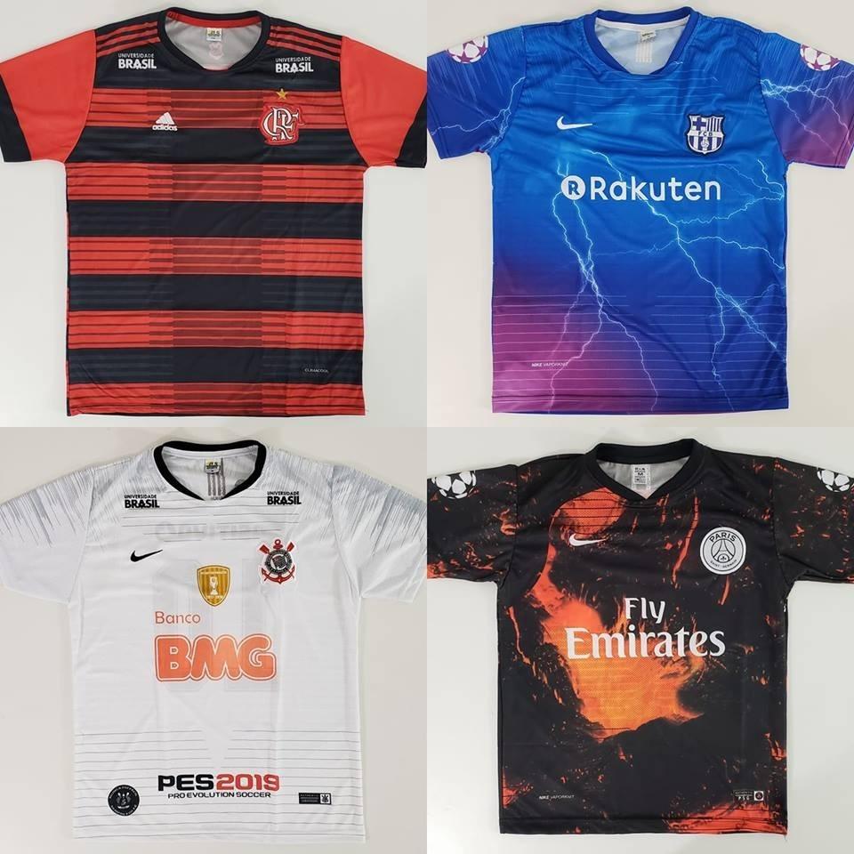 27f819c66a 10 Camisas De Time Atacado P Revenda Time Futebol Raynstore® - R ...