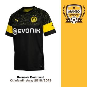 b0c7ef1c6 Uniforme Padrao Borussia Dortmund - Futebol no Mercado Livre Brasil