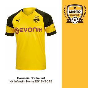 aa8bab7c1 Kit Infantil Do Borussia Dortmund Times - Camisas de Futebol no Mercado  Livre Brasil