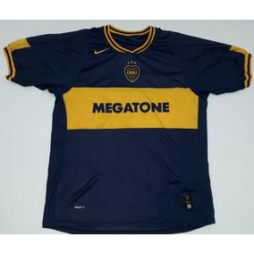 15947cadf8547 Camisa Boca Juniors Usada E Autografada Riquelme - Futebol