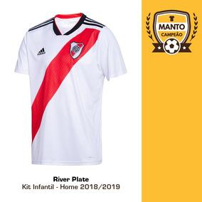 d049ccdba Uniforme River Plate Infantil Times - Camisas de Futebol no Mercado Livre  Brasil