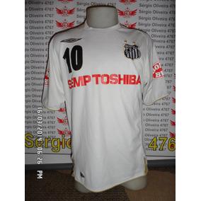 597b8df1bb8bc Camisa Santos Umbro Semp Toshiba - Futebol no Mercado Livre Brasil