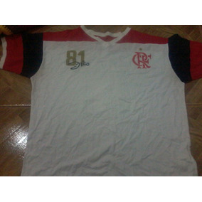 be05a5bc35641 Camisa Retro Flamengo 81 Zico - Futebol no Mercado Livre Brasil