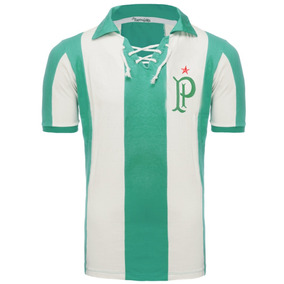 d13e85cff3c76 Camisa Palmeiras Listrada Retro no Mercado Livre Brasil