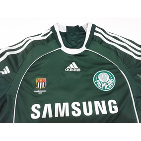 57db0eb925bc4 Camisa Palmeiras Com Patch De Campeão Brasileiro - Camisas de Futebol no  Mercado Livre Brasil