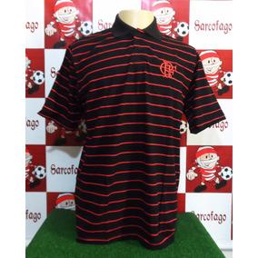 5b2a6852a9eee Camisa Polo Flamengo Braziline - Futebol no Mercado Livre Brasil