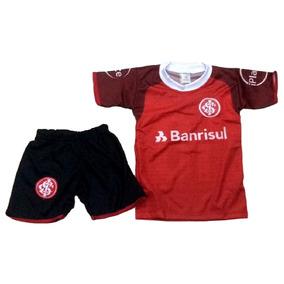 664f0b54ef54d Camisa Inter Criança 4 Anos - Camisas de Times de Futebol no Mercado Livre  Brasil