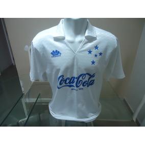 9bd4a224a8cb0 Camisa Retrô Cruzeiro Coca Cola - Camisa Cruzeiro Masculina no Mercado  Livre Brasil