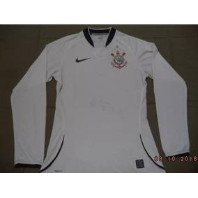 2330a9cc72f13 Camisa Do Corinthians Manga Longa - Futebol no Mercado Livre Brasil