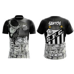 3730a8531f1c5 Camisa Antiga Do Santos Fc - Camisa Santos Masculina no Mercado Livre Brasil