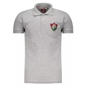 10cd79e211d62 Camisa Fluminense Cinza - Camisa Fluminense Masculina no Mercado Livre  Brasil